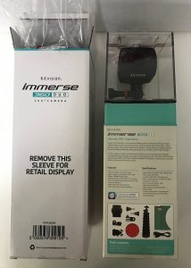 Kitvision Immerse 360 Duo Camera 1080p HD