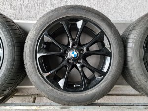 "alu felne 19 "" original bmw x5 f15 i gume goodyear run flat"