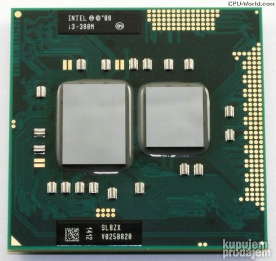 Intel i-3 380M 2.53Ghz/3Mb cash zverka