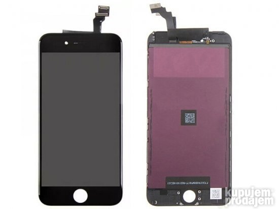 Iphone 6 plus Lcd+touch screen crni
