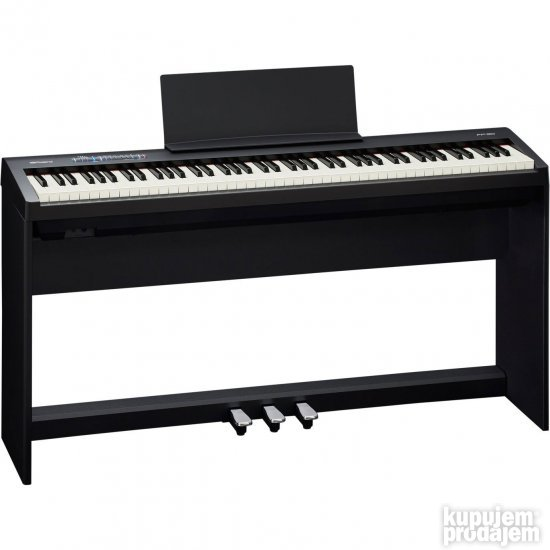 Roland FP-30 BK Digital Piano with 3 pedals and stand
