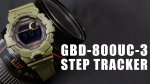 Casio G-Shock GBD-800UC-3er Step Tracker