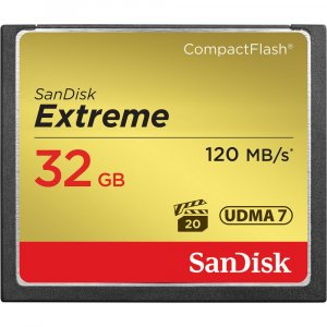 SanDisk CF Extreme 120MB/s 32GB Compact Flash