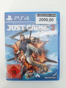Just Cause 3 PS4 polovna igra
