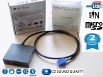 VW golf 4 5 6 Passat B5 B6 B7 polo Tiguan Usb sd aux adapter