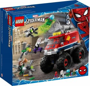 Lego Super Heroes Spider-Man's Monster Truck vs. Myste 76174
