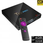 T10 PRO 64bit 4K Android smart TV BOX Android box 4GB/32GB