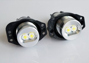 LED Angel Eyes Markeri BMW E90 E91
