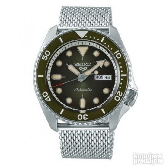 SEIKO 5 Sports Automatic Green model: SRPD75