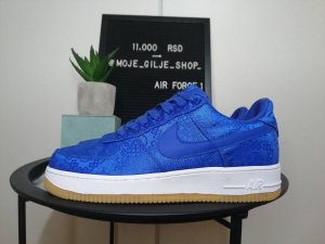 Nike Air Force 1 Clot Blue Silk NOVO