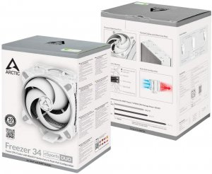 ARCTIC COOLING Freezer 34 eSports DUO gray-white