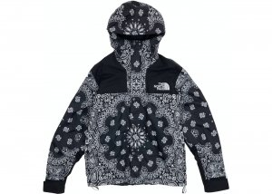 Supreme The North Face Bandana Mountain Jacket crna NOVO