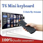Wireless Keyboard T6 Mini Air Mouse 2.4Ghz Gyroscope