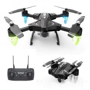 Dron F69 2.4 Ghz 4CH 6-Axis Gyro RC HD Kamera