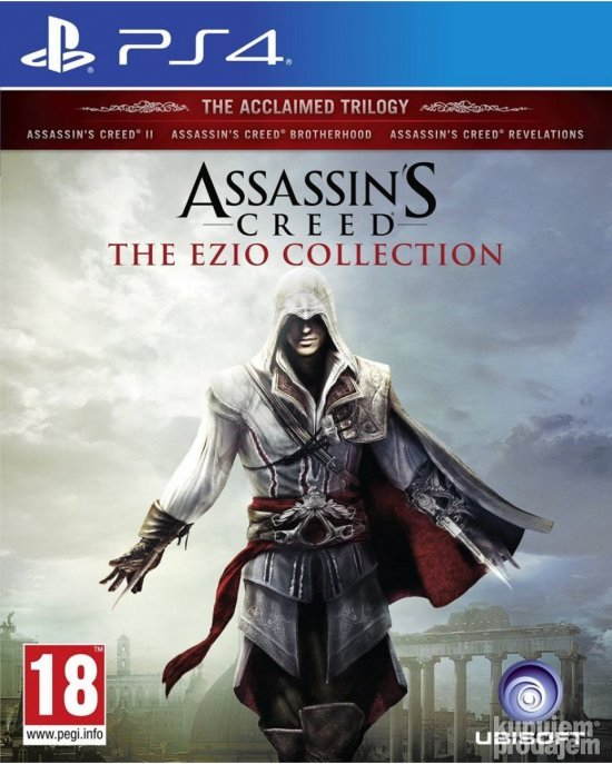 Assassins Creed The Ezio Collection za PS4