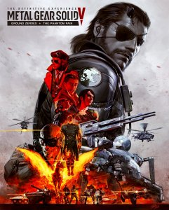 Metal Gear Solid V 5 The Definitive Experience PS4
