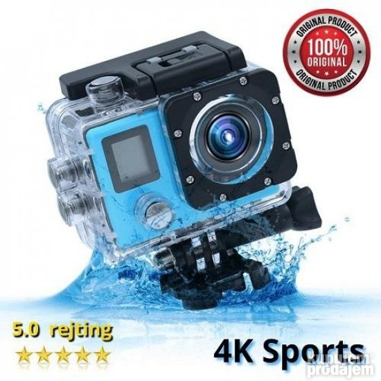 PROFI 4K SPORTS Ultra HD kamera Go Pro