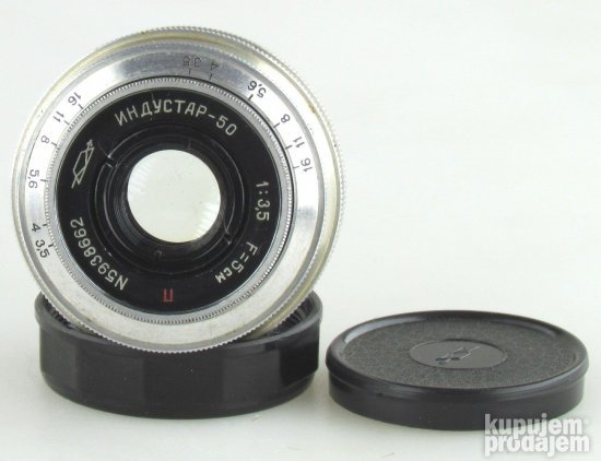 KMZ Industar-50  3,5/5cm Zeiss Tessar copy