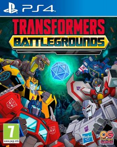 Transformers Battlegrounds PS4