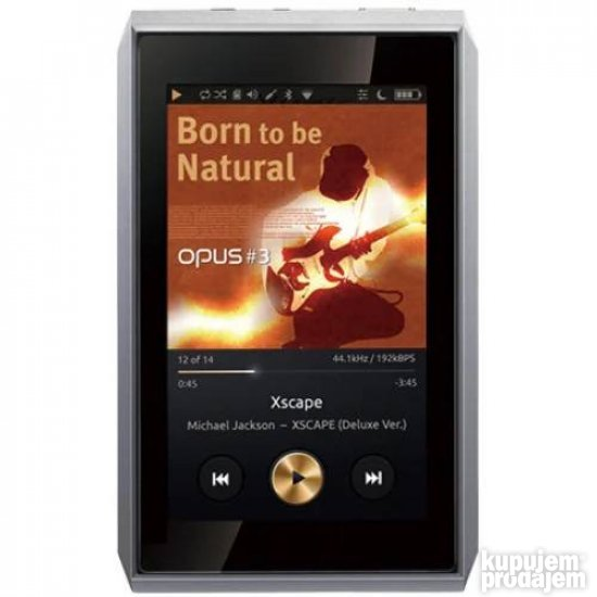AUDIO-OPUS #3 MQS quality portable audio player