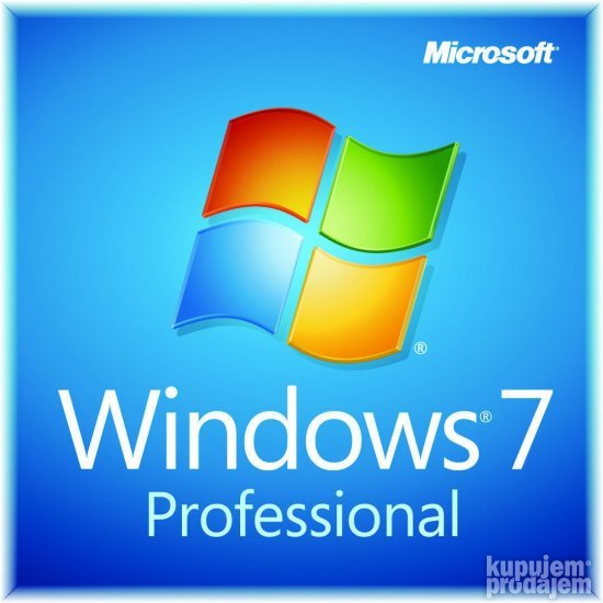Original Microsoft Windows 7 Professional 32/64bit Licenca