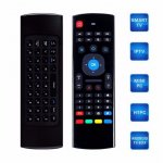 Air mouse MX3 sa tasturom i ziroskopom smart box tv komp