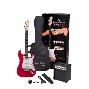 Gitarski paket  RIDER GP CAR el.guitar pack