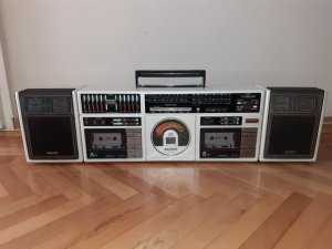 CD radiokasetofon /PHILIPS/ D8958 Boombox