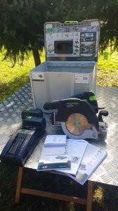 Festool HKC 55 Li EBI - Plus - SCA 09/2019 kao nov.