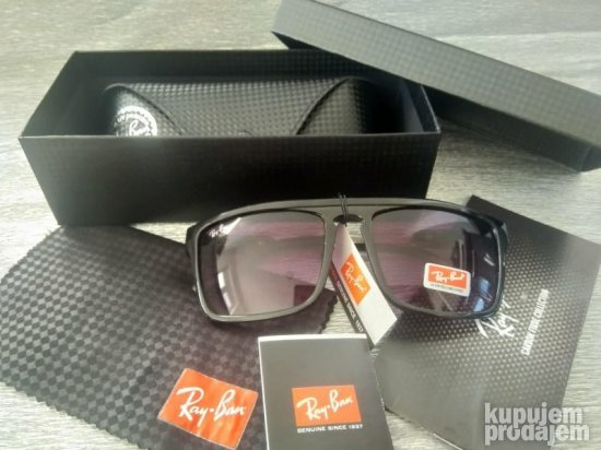 Ray Ban CARRERA Black +Kutija-futrola i krpica