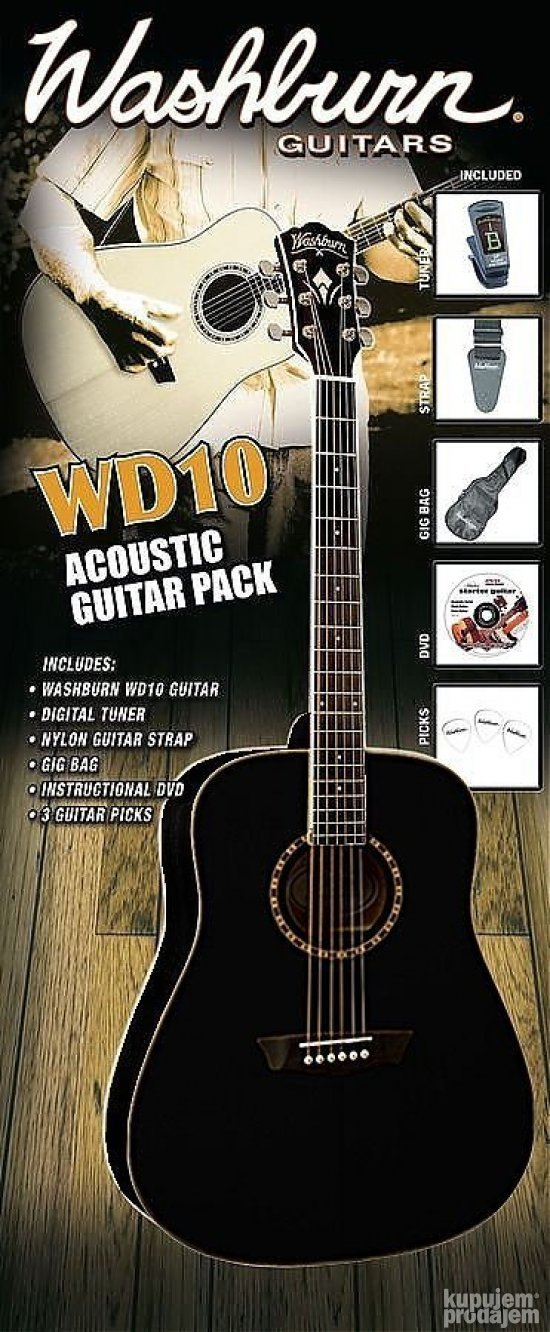 Washburn WD-10B Pack