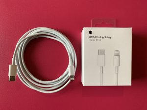 Original iPhone 2m USB-C to Lightning Kabl
