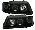 Crni Angel Eyes farovi AUDI A3 8L (1996-2000)