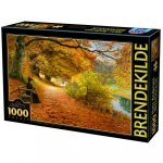 Puzzla Hans Andersen Brendekilde A Wooded Path 1000pcs