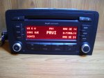 Audi A3 2008god cd mp3 radio CONCERT
