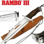 Noz Rambo FIrst Blood Part 3-Novo!