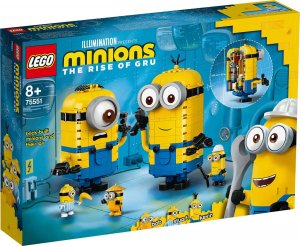 Lego Minions Brick-built Minions their Lair 75551