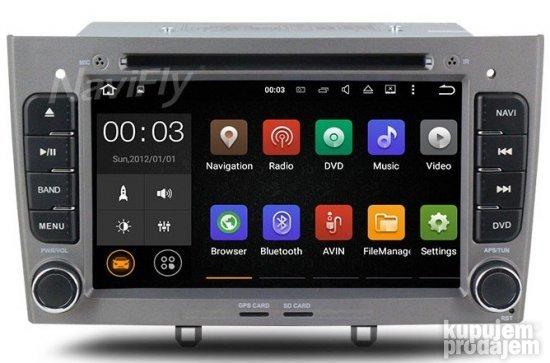 Automobili   Oprema : Multimedija Android Peugeot 308 i 408
