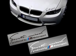 Produced by M Motorsport nalepnica stiker znak za BMW