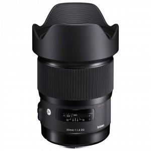 Sigma 20mm f/1.4 DG HSM Art Sony E
