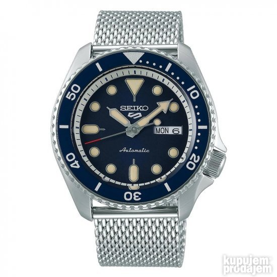 Seiko 5 Sport Automatic Blue model: SRPD71K1 NOVO