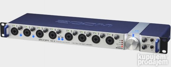Zoom TAC-8 Thunderbolt Audio Interface AKCIJA!