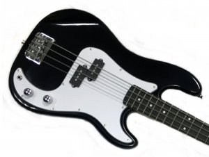 Electrična Bass gitara Black