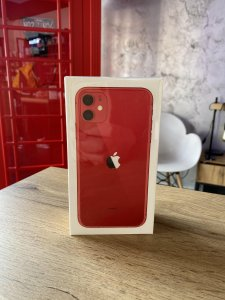 iPhone 11 - RED - 64GB - Novo - Garancija