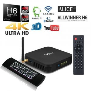 Android box-Android 9.0 TV box TX6 4GB ram +32GB 4K ultra HD