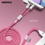 Data kabal Remax Binary 2u1 za iPhone / micro USB 2.1A