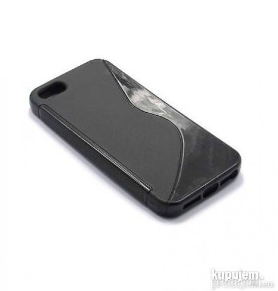 Silikonska futrola S-Shape za iPhone 5