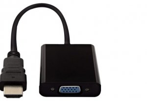 Adapter HDMI-VGA (with Audio) crni JWD-HDMI8