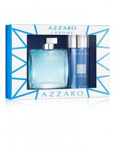Azzaro Chrome edt 50ml + 150ml deo