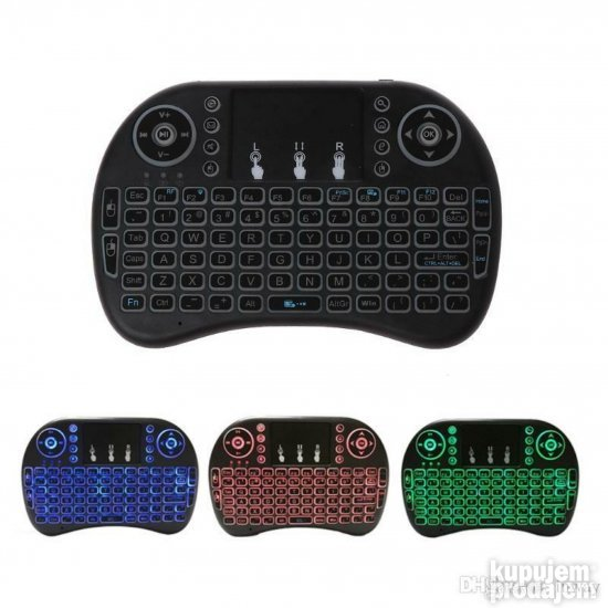 Wireless Tastatura sa touchpad-om